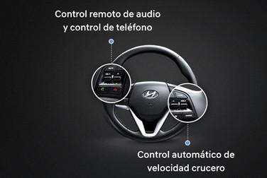 Control remoto en volante