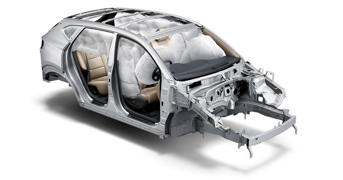 Sistema de 6 Airbags