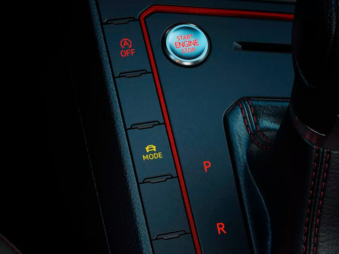 Selector de perfil de conducción