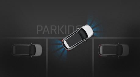 Sensores de estacionamiento trasero