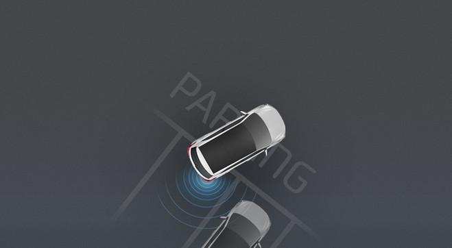 Sensores de estacionamiento traseros