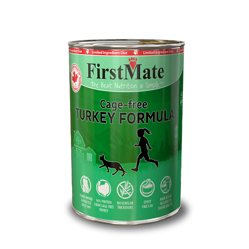FirstMate Cat Cage Free Turkey Formula 345 g