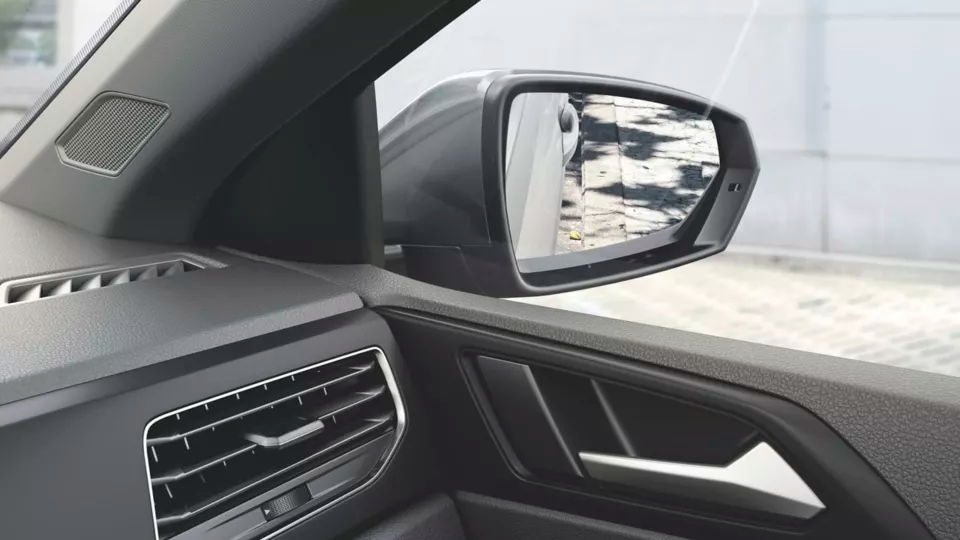 Luz de espejos exteriores