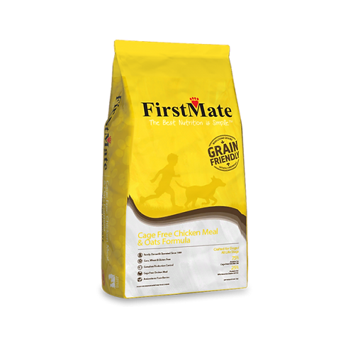 FirstMate Dog Cage Free Chicken & Oats 25 lb