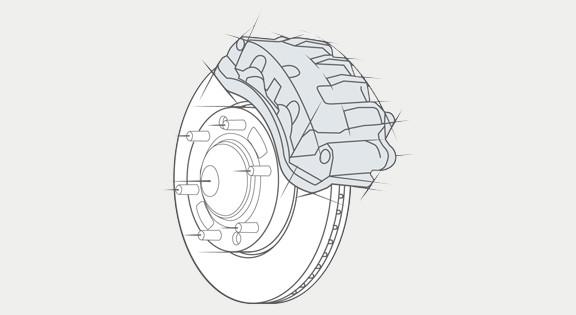 ABS con frenos traseros a disco
