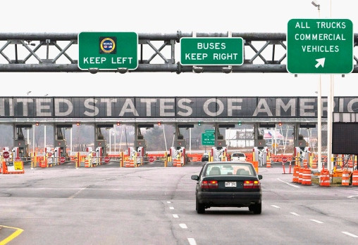 Canadians turned away at the U.S.A. border