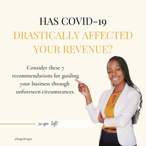 Has COVID-19 Drastically Affected Your Revenue?