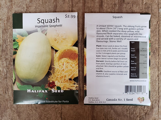 Squash - Vegetable Spaghetti