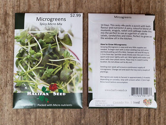 Microgreens - Spicy Micro Mix