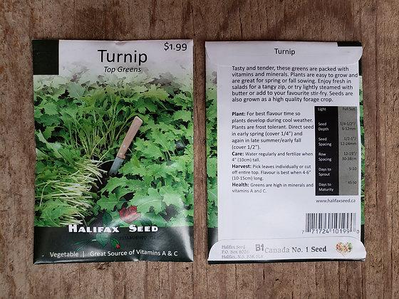 Turnip - Top Greens