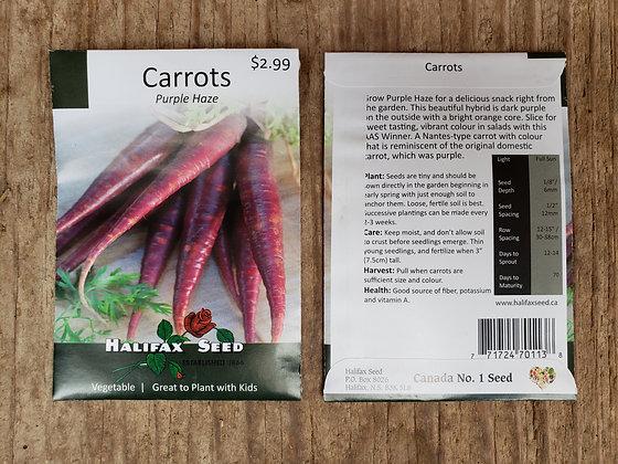 Carrots - Purple Haze