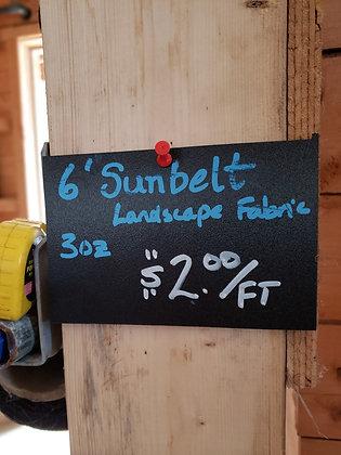 Sunbelt Landscape Fabric 6' wide