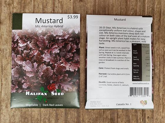 Mustard - Miz America Hybrid