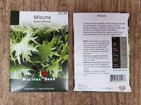 Mizuna - Green Mizuna