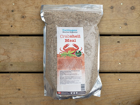 Crabshell Meal - Twillingate Marine Organics