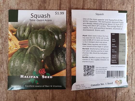 Squash - Table Queen Acorn