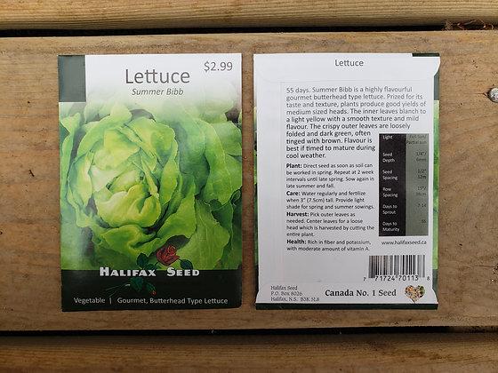Lettuce - Summer Bibb