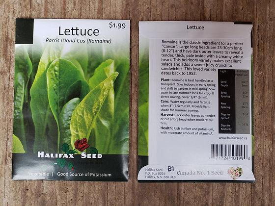 Lettuce - Parris Island Cos (Romaine)