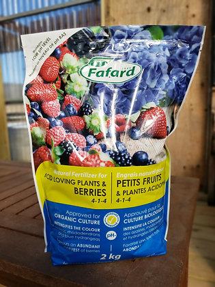 Fafard Acid-Loving Plants & Berries 4-1-4 2kg