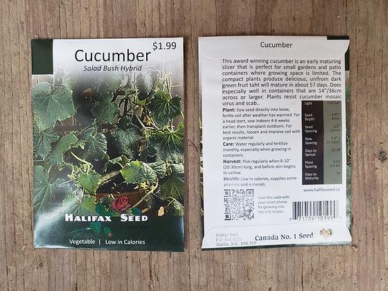 Cucumber - Salad Bush Hybrid