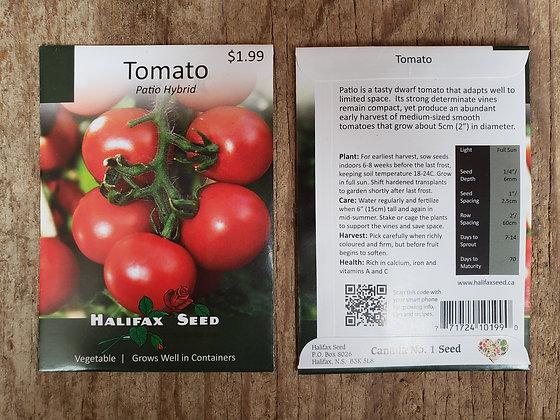 Tomato - Patio Hybrid