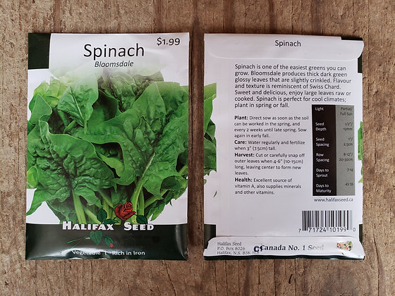 Spinach - Bloomsdale