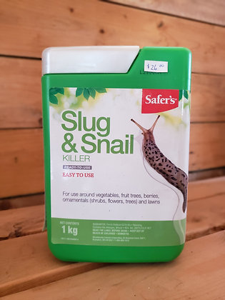 Safer's Slug & Snail bait 1kg