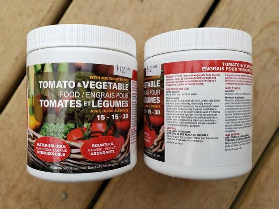 Nutrite Tomato & Vegetable food 15-15-30 500g