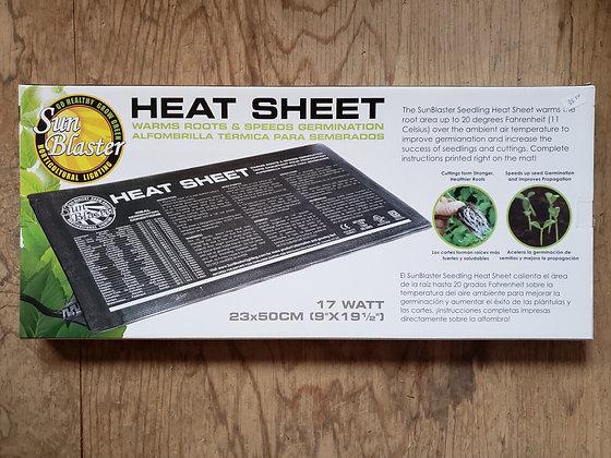 Sun Blaster Heat Sheet