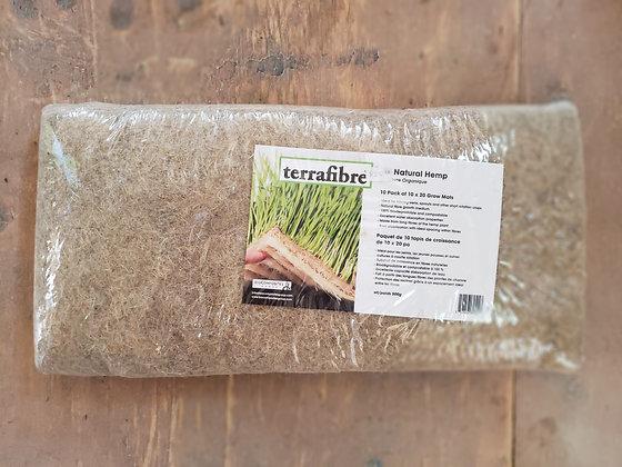 terrafibre Natural Hemp Grow Mats