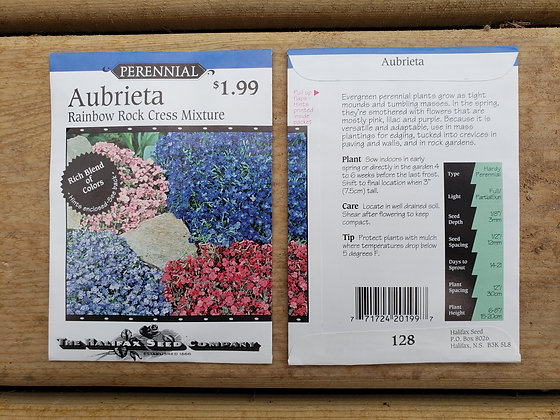 Aubrieta - Rainbow Rock Cress Mixture