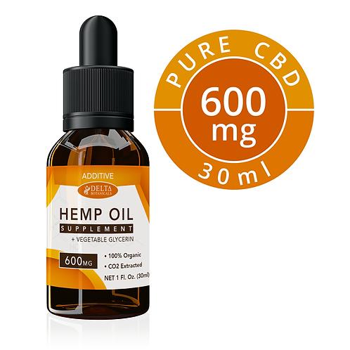 Gold Label - 600 mg CBD Strength