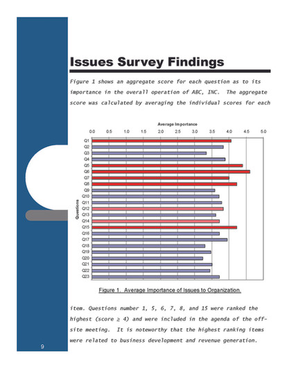 Issues Survey Findings