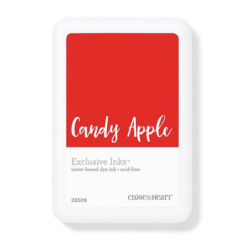 Candy Apple Exclusive Inks™ Stamp Pad