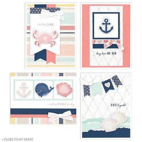 Seas the Day Cardmaking Workshop Kit