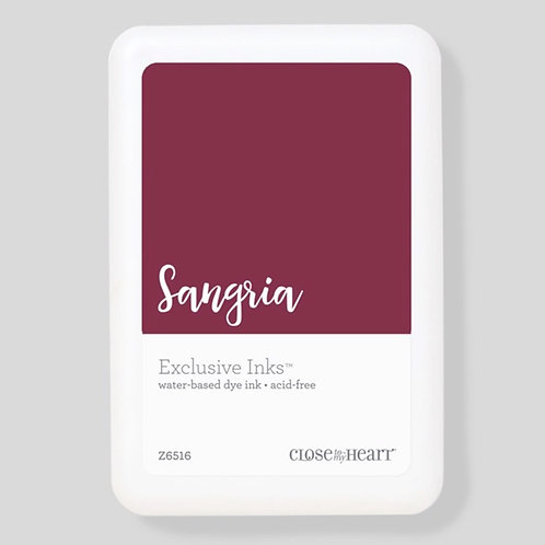 Sangria Exclusive Inks™ Stamp Pad