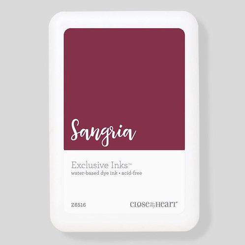 Sangria Exclusive Inks™ Stamp Pad