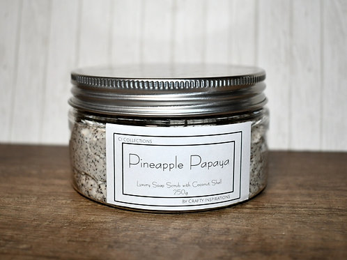 Pineapple Papaya Luxury Soap Body Scrub