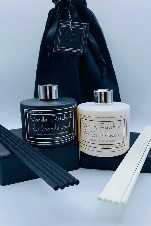 Vanilla, Patchouli & Sandalwood Diffuser