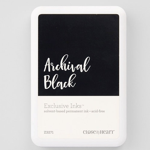 Archival Black Exclusive Inks™ Stamp Pad