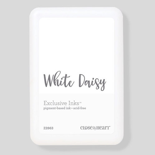 Pigment Pad White Daisy Exclusive Inks™