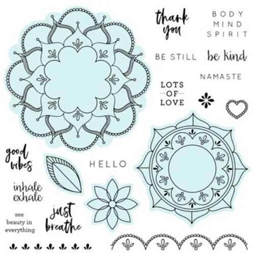 Mandala Vibes Stamp + Thin Cuts
