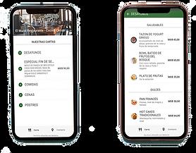 menu digital