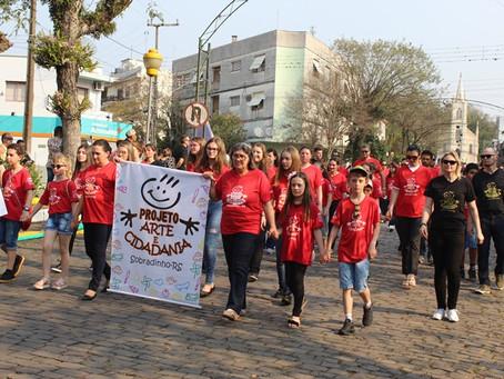 Arte e Cidadania no Desfile Cívico 2019