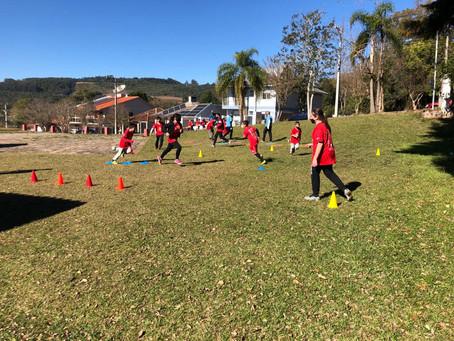 Esporte e Recreação: uma quarta feira de sol, alegria e atividades