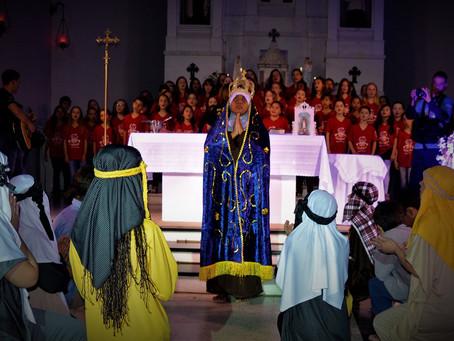 Apresentação na Igreja N. Sra. dos Navegantes 11/10/2018