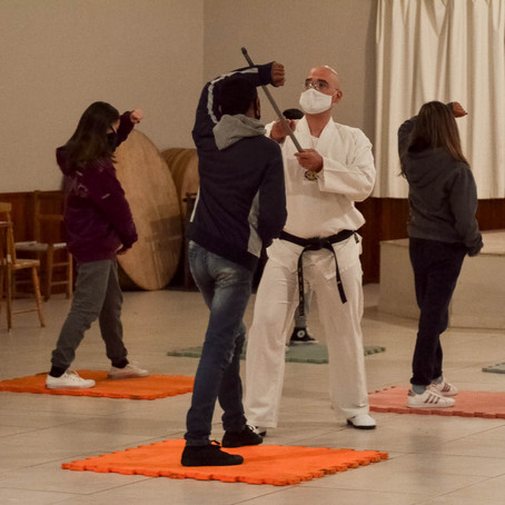Oficina de Taekwondo: de volta às atividades