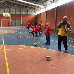 Esporte e Recreação I : Professor Misco em atividades