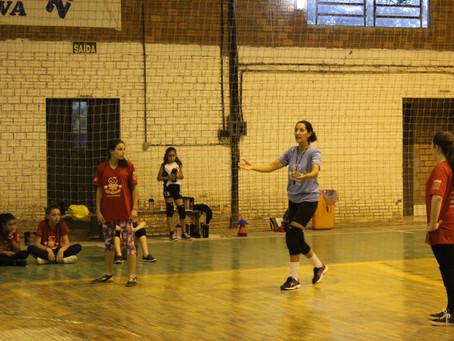 Oficina de Voleibol Feminino - 10/04