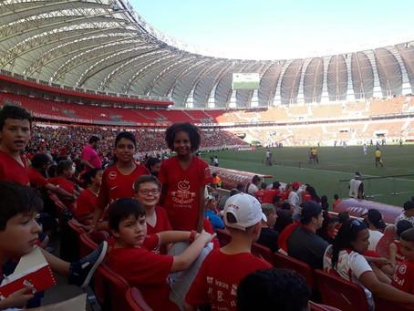 Projeto participa de iniciativa beneficiente em Porto Alegre